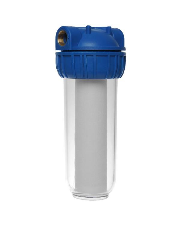Магистральный фильтр Гейзер 1П прозрачный корпус за 785руб